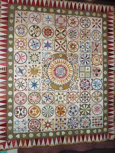 Dorothy's threads of life: A Trip to the Quilt Show Old Quilts, Antique Quilts, Mini Quilts, Vintage Quilts, Quilting Frames, Hand Quilting, Quilting Tips, Dresden Quilt, Dresden Plate