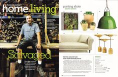 Chesapeake Home Living featured their favorite bambeco products in this month's issue! #ecoChic