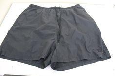 wilson men fitness running black shorts (XL) 100% polyester  #wilson