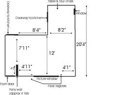 L Shaped Living Room Dining Furniture Layout