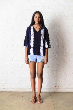 Ocean Waves, Western Wear, Short Dresses, Tie Dye, Doll, How To Wear, Collection, Women, Fashion