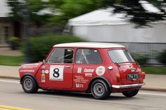 Austin Cooper competing in the 2013 Pittsburgh vintage grand prix , U.S.A. . They get everywhere .