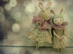 Art Dolls by Paola Zakimi - I want to live in this magical world!