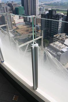 【岱嵐iLand工程日誌】陽台墩座玻璃欄杆 |岱嵐創建