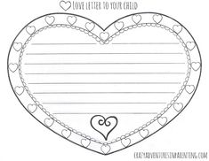 Valentines day letter writing freebie lisa lilienthal love letter to your child valentines day printable spiritdancerdesigns Images