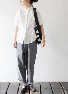 TIGRE BROCANTE - white linen shirts