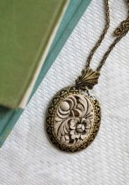 ivorine floral indie necklace by Sweet Romance