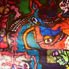 Sketchbook Art | David Charles Fox davidcharlesfoxexpressionism.com #davidcharlesfox #expressionistartist #expressionism #expressionistpainter #contemporaryartists #sketchbookart