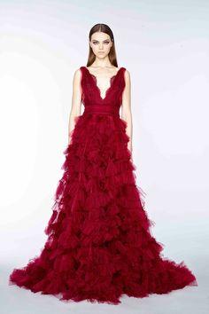 Marchesa, pre-autumn/winter 2015 fashion collection