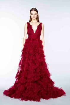 Marchesa, pre-autumn/winter 2015 fashion collection