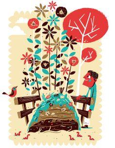 Christian Lindemann - Biology, Botanical, Cartoon, Children's Book, Decorative, Digital, Editorial, Graphic, Nature, People, Vector Art
