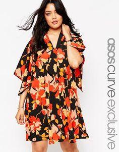 70s floral dress