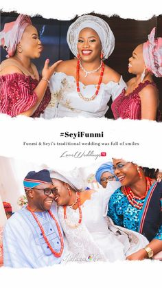 Funmi & Seyi looked stunning in white aso oke traditional outfits Nigerian Traditional Wedding, Looking Stunning, Traditional Outfits, African Fashion, Real Weddings, Crochet Earrings, Asos, African Wear, Africa Fashion