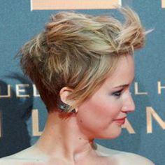 Jennifer Lawrence Pixie Cut LOVE THIS !!