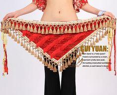 Tribal Belly Dance Costume Hip Scarf Wrap Belt Tassels | Clothing, Shoes & Accessories, Dancewear, Adult Dancewear | eBay!
