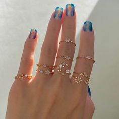 Hand Jewelry, Dainty Jewelry, Cute Jewelry, Jewelry Accessories, Jewelry Design, Women Jewelry, Fashion Jewelry, Hippie Accessories, Fashion Rings