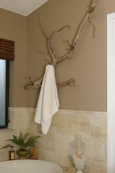 Driftwood type Towel Bar