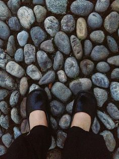 Leslie Tucker Jenison, the pavement in Tirano, Italy
