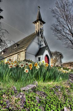 St. John's, Boonton, NJ, via Flickr. One of the most architecturally charming churches in the east.