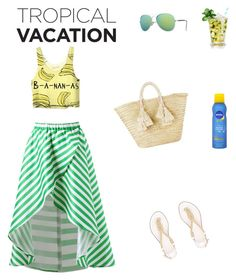 """summer holiday"" by eleonora-w on Polyvore featuring Vans, MICHAEL Michael Kors, Nivea and Giselle"