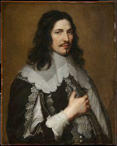 Retrato de um cavalheiro, por Jacob van Oost , o jovem, c 1650