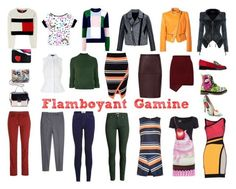 Flamboyant Gamine - Sassy Chic   Типы красоты по Дэвиду Кибби