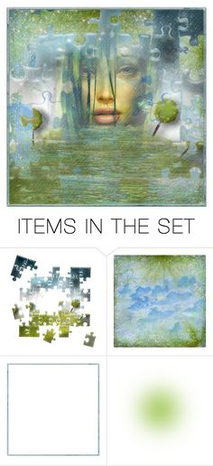 """""""Puzzling"""" by debraelizabeth ❤ liked on Polyvore featuring art"""