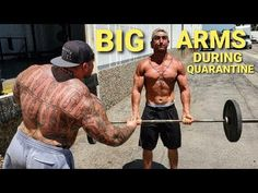 HOW TO GET BIG ARMS DURING QUARANTINE - YouTube Get Bigger Arms, How To Get Bigger, Follow Me On Instagram, Big Boys, Strength, Youtube, Youtubers, Youtube Movies, Electric Power