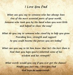 Free Christian Fathers Day Poems 2015