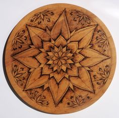 Custom Mandala Pyrography Cutting Board by TheseOldWoods on Etsy https://www.etsy.com/listing/241488960/custom-mandala-pyrography-cutting-board
