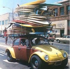 Une VW customisée ...