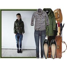 From my Polyvore: Military style coat/ Jeans: Elizabeth & James/ Shirt: Scotch & Soda/ Socks: Barneys/ Shoes: Maxmara/ Bag: Dorothy Perkins/ Belt: Mulberry
