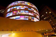 Guggenheim museum ... Upper East Side of Manhattan ... NYC