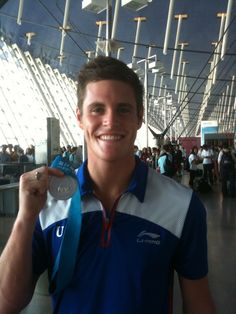 David Boudia... He is so freaking gorgeous.