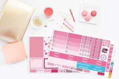 Mambi Happy Planner Valentine's Day Planner Stickers by TheCleverDesign on Etsy