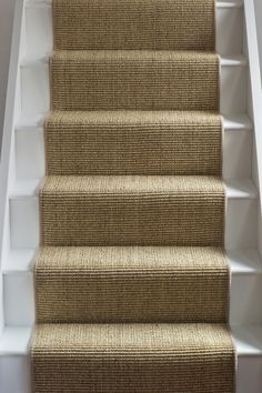 stairs with carpet runner stairs with carpet runner ; stairs with carpet runner wood ; stairs with carpet runner and wood ; stairs with carpet runner and bars ; stairs with carpet runner entryway Sisal Stair Runner, Staircase Runner, Carpet Runner On Stairs, Best Carpet For Stairs, Carpet Stair Treads, Hallway Carpet Runners, Cottage Stairs, House Stairs, Painted Staircases