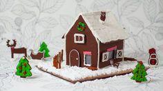lebkuchenhaus selber machen rezept und anleitung ginger house b ckereien pinterest. Black Bedroom Furniture Sets. Home Design Ideas