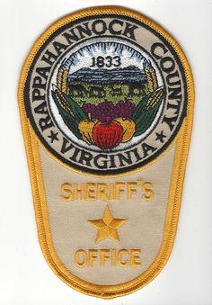 LOUDOUN COUNTY VIRGINIA VA Animal Care And Control SHERIFF POLICE PATCH