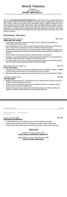 Updated Marketing\/Sales Resume About Me Pinterest - sample of sales resume