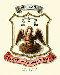 Louisiana state coat of arms