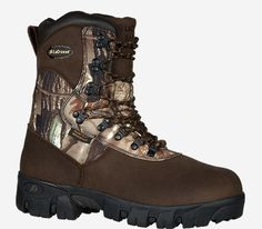 A big game, late season boot, the Game Country™ is designed to keep feet warm in cold temperatures. Realtree® AP HD® camo and 1600 G. Thinsulate™ Ultra Insulation ensure comfort and stealth for long-term stints in a tree stand. Waterproof Hunting Boots, Country Boots, Insulated Boots, Hunting Clothes, Hunting Gear, Cool Boots, Lacrosse, Modern Man, Shoe Brands