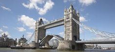 """Tower Bridge, London.  Did the """"bridge experience"""" and walked across the top.  Actually was pretty fun and great views."""