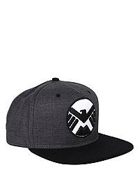 Marvel's Agents of S.H.I.E.L.D. Logo Snapback Ball Cap from Hot Topic for $13.88
