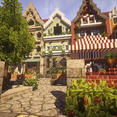 Only village I've seen that I'd like to create style wise. - Minecraft World Plans Minecraft, Villa Minecraft, Minecraft World, Minecraft Cottage, Art Minecraft, Minecraft Building Guide, Cute Minecraft Houses, Minecraft Structures, Amazing Minecraft
