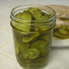 Sweet Dill Pickles Allrecipes.com