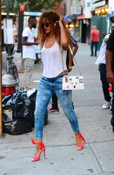 Edgy, como Rihanna?