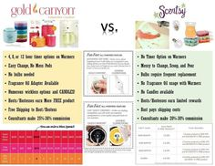 Gold Canyon vs Scentsy                                                                                                                                                      More