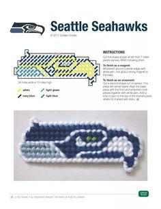SEATTLE SEAHAWKS ORNAMENT/MAGNET