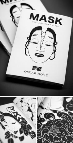 De la obsesión por las mascaras del teatro japones, Noh (能面), nace este libro que recopila en su interior las ilustraciones del imaginario de Oscar Hove.SEGUNDA EDICIÓNPapel Offset edition 180 grTamaño 14,8 x 21 cm84 Páginas en blanco y negroEdición de 200 ejemplares.HAZ TU PRE-PEDIDO AHORA !! Nota: Tener paciencia con los envios. Puede tardar unas semanas. Gracias....................From the obsession with the masks of the Japanese theater, Noh (能 面)... Japanese Drawings, Japanese Tattoo Art, Tattoo Sketches, Tattoo Drawings, Tiger Drawing, Japanese Mask, Mask Tattoo, Tattoo Illustration, Creature Concept Art