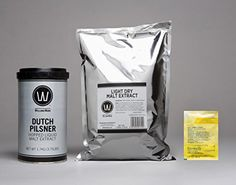 Beer Home Brewing Starter Set: Premium Dutch Pilsner No Boil Complete Beer Kit, Makes 5-6 gallons -- Be sure to check out this awesome product.